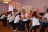 Наши воспитатели участвовали в первых зимних эстафетах «Олимпийские надежды 2017»