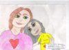 Выставка детских работ Моя любимая мамочка